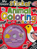 My Giant Sticker Animal Coloring Book CD