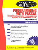Schaum s Outline of Theory and Problems of Programming with Pascal