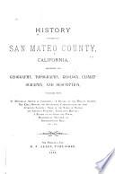 History of San Mateo County, California