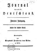 Journal von und für Deutschland ...