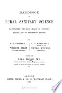 Handbook of Rural Sanitary Science