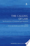 The Calling Of Law