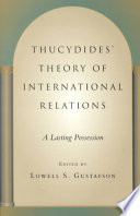 Thucydides  Theory of International Relations