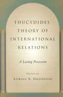 Thucydides' Theory of International Relations