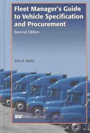 Fleet Manager s Guide to Vehicle Specification and Procurement