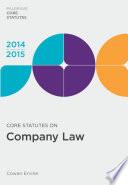 Core Statutes on Company Law 2014 15
