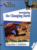 BSCS Science T.R.A.C.S.: Investigating the changing earth