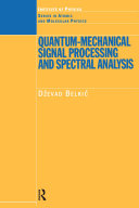 download ebook quantum-mechanical signal processing and spectral analysis pdf epub