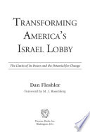 Transforming America's Israel Lobby Public Affairs Committee Aipac Have As Much