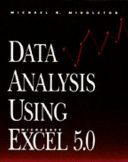 Data Analysis Using Microsoft Excel 5 0