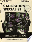 download ebook calibration specialist pdf epub