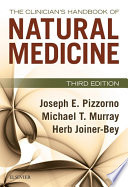 The Clinician S Handbook Of Natural Medicine book