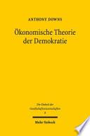 konomische Theorie der Demokratie