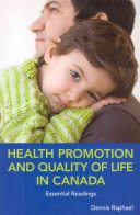 Health Promotion and Quality of Life in Canada