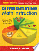 Differentiating Math Instruction, K-8