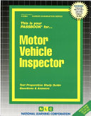 Motor Vehicle Inspector