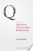 Quantum Non Locality and Relativity