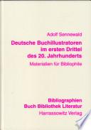 Deutsche Buchillustratoren im ersten Drittel des 20. Jahrhunderts