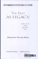 The Past as Legacy Book