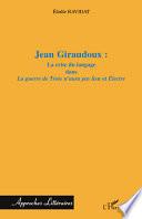 Jean Giraudoux :