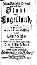 Gegenwärtiger Staat von Engelland