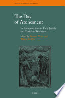 The Day Of Atonement : influence on judaism and christianity. the...