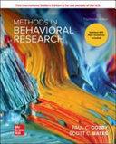 Methods In Behavioral Research 14e