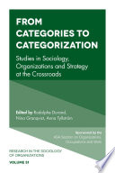 From Categories To Categorization book