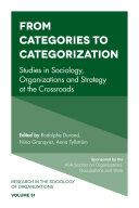 From Categories to Categorization