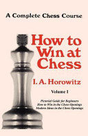 A Complete Chess Course, Volume I : combining them into one volume, but then...
