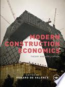 Modern Construction Economics