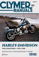 Harley Davidson FXD Evolution 1991 1998