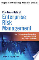 Fundamentals of Enterprise Risk Management Chapter 10  ERM Technology   Airbus A380 Jumbo Jet