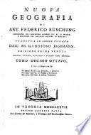 Nuova geografia, tradotta in lingua toscana da Gaudioso Jagemann