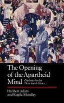 The Opening of the Apartheid Mind