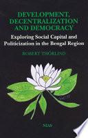 Development  Decentralization and Democracy