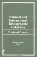 National and International Bibliographic Databases