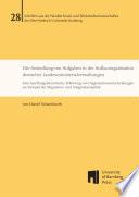Die Ansiedlung von Aufgaben in der Aufbauorganisation deutscher Landesministerialverwaltungen
