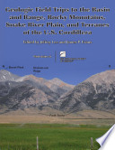 Geologic Field Trips to the Basin and Range  Rocky Mountains  Snake River Plain  and Terranes of the U S  Cordillera