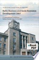 Baltic Business and Socio Economic Development 2007