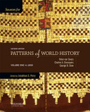 Sources for Patterns of World History   To 1600