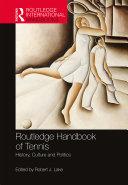 Routledge Handbook of Tennis