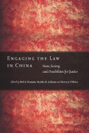 Engaging the Law in China