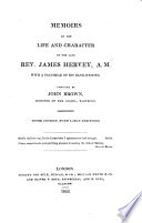 Memoirs Of The Life And Character Of James Hervey