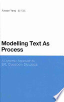 Modelling Text As Process