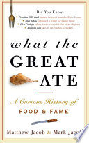What the Great Ate