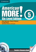 American More  Six Level Edition Level 5 Teacher s Resource Book with Testbuilder CD ROM Audio CD