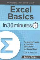 Excel Basics In 30 Minutes  2nd Edition