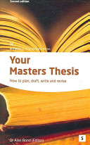 Your Master s Thesis