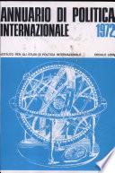 Ispi   Annuario Di Politica Internazionale 1972